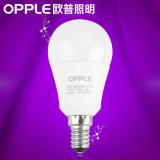 欧普照明 LED球泡 E14螺口灯头灯泡 3w超亮节能灯lamp