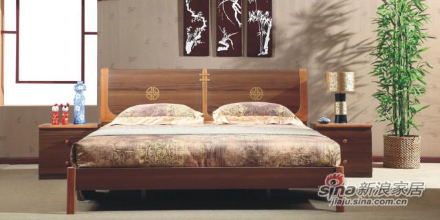 双虎家私床