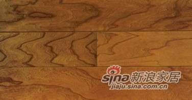 欧龙地板多层实木系列-榆木浮雕布拉格春天