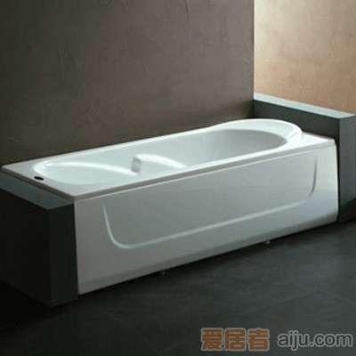 法恩莎单裙浴缸-F1516Q不含去水(1500*700*510MM)1