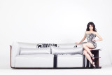 曲美黑白斑马F1-A-2011S8-7R+FSG