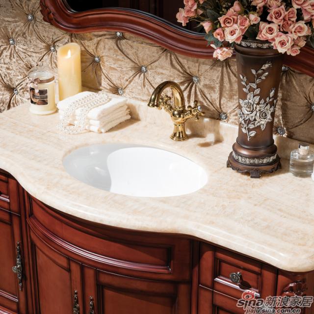 阿洛尼浴室柜-欧式仿古柜-A1159-1