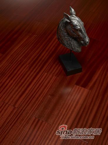 【永吉地板】实木复合平面——骑士城堡 沙比利 原生态色