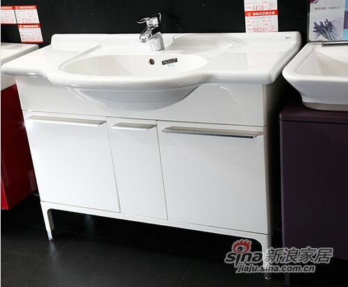乐家卫浴浴室柜-2