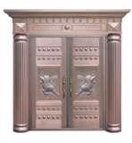雅帝乐铜门D-H2-5003-F1(财源广进,请貔貅)