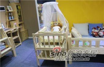 ABC实木儿童家具LH-婴儿床-0
