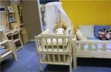 ABC实木儿童家具LH-婴儿床