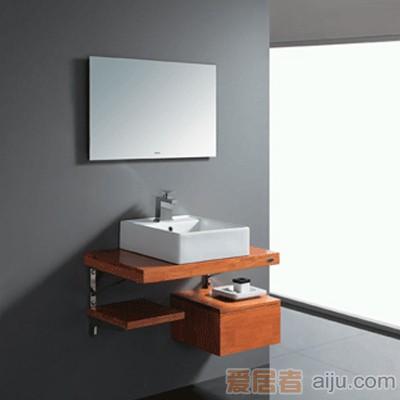 法恩莎实木柜柜盆/面盆FP4682(460*480*175mm)1