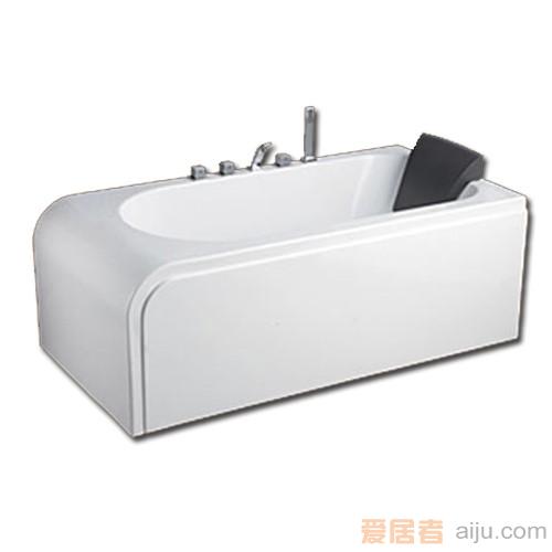 惠达-HD1311龙头浴缸(双面裙边)2