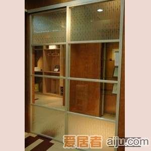 史丹利滑动门天宝系列艺术玻璃隔断门