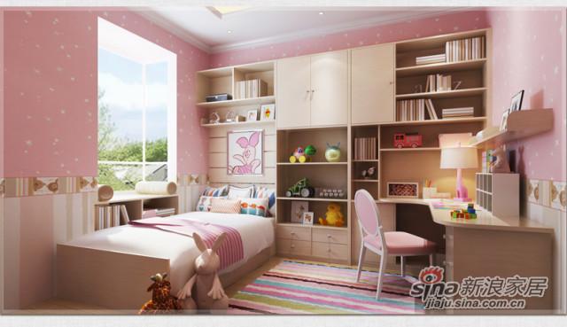 索菲亚衣柜-儿童房套餐 -6