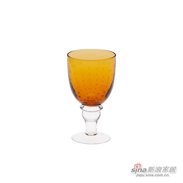 Casa 高脚气泡玻璃杯-0