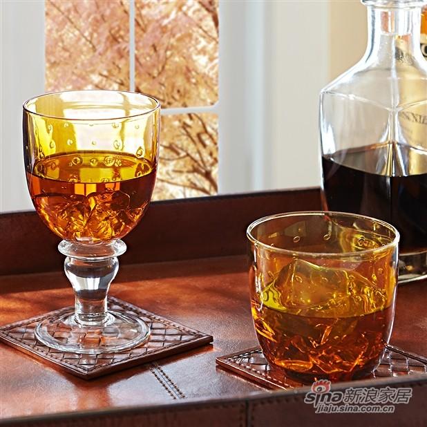 Casa 高脚气泡玻璃杯-1