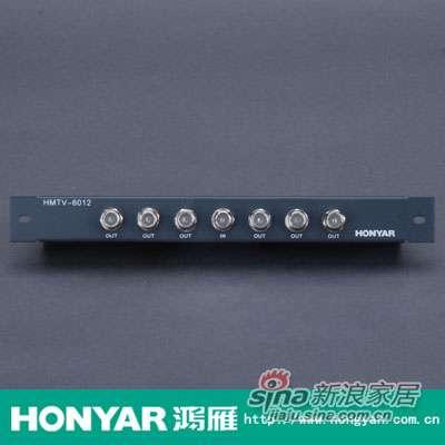 鸿雁有线电视六分配器HMTV-6012-0