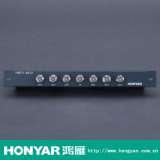 鸿雁有线电视六分配器HMTV-6012
