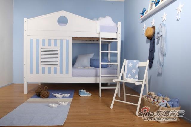 哥伦比尼儿童家具凯特系列双床房