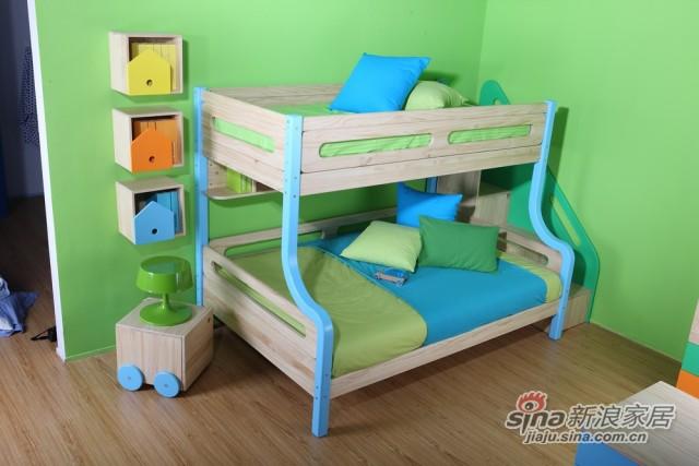 哥伦比尼儿童家具凯特系列双床房-2