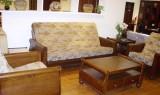 天坛门厅家具-木制两用沙发
