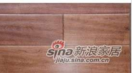 四合地板三层实木复合地板地热地板硕桦红茶色-0