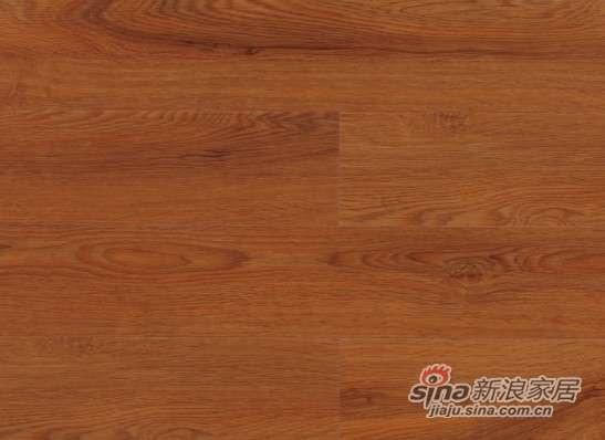 大卫地板中国红-锦绣红系列强化地板DW0007金丝橡木-0