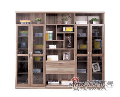 风尚浅胡SG-1731组合书柜