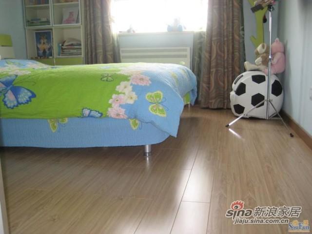 德尔经典柚木强化复合地板-1