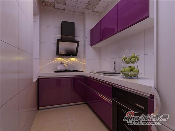 9万装两居现代风格设计案例-2