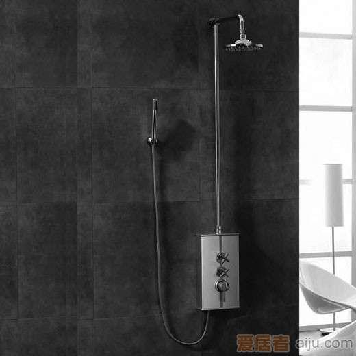 英皇纯铜镀�t淋浴柱X21