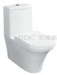 百德嘉陶瓷件连体座便器-H331104