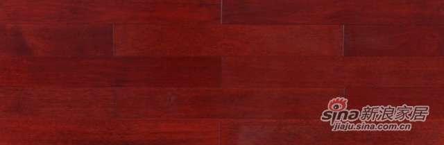 大卫地板经典实木-东南亚悠然系列S32L03印茄木(红色淋漆)-0