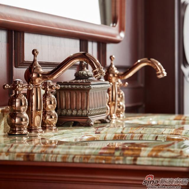 阿洛尼浴室柜-欧式仿古柜-A1806-2