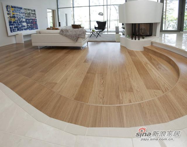 得高karelia三层实木地板 单拼橡木-1