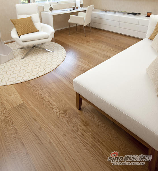 得高karelia三层实木地板 单拼橡木-2