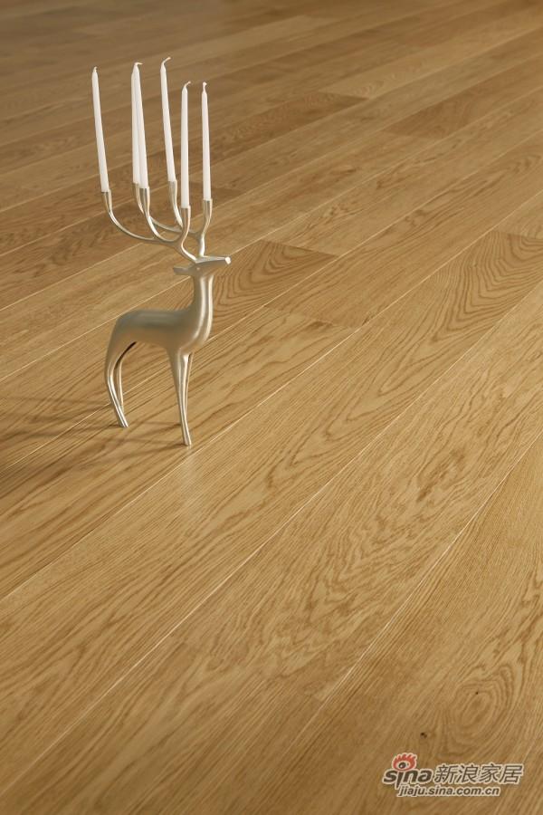 得高karelia三层实木地板 单拼橡木-3