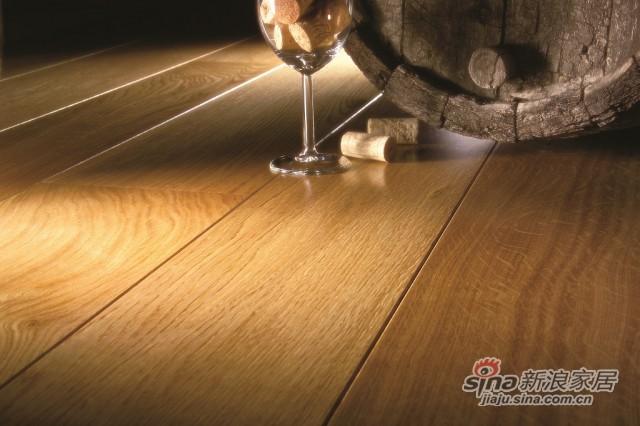得高karelia三层实木地板 单拼橡木-4