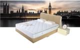 聚【喜临门】双人床实木床1.8米软床小户型皮床 真皮床817k