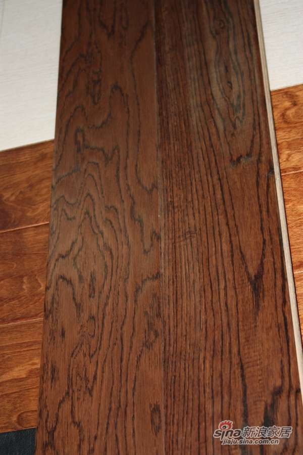 富得利白栎木多层实木复合地板-0