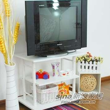 美好家DIY韩式时尚电视柜-0