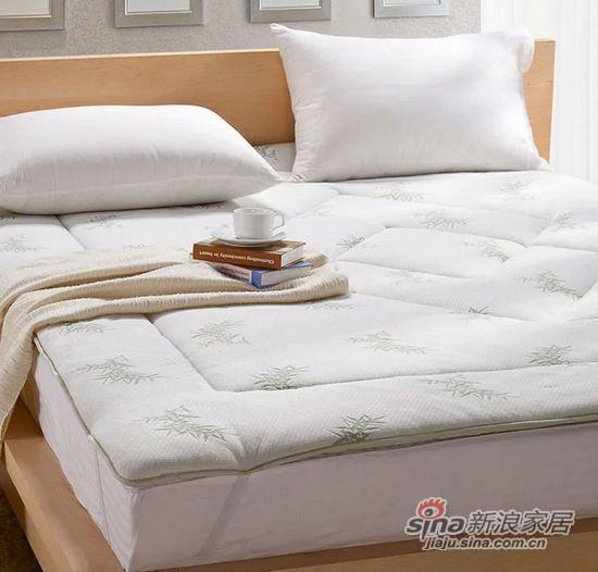 盛宇家纺竹纤维软床垫-1