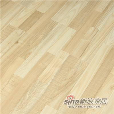 德合家ROOMS 强化地板R0805自然榆木-1