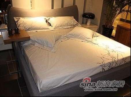耐特利尔家具自然空间;软包箱体双人床-0