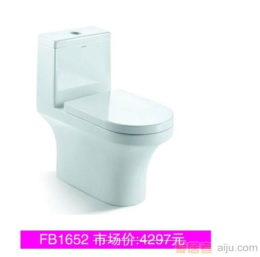 法恩莎连体座便FB1652M/L(L695*W370*H730mm)1