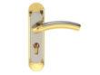 雅洁AS2051-H3059A-74中锁英文铜锁体+70中文铜锁胆