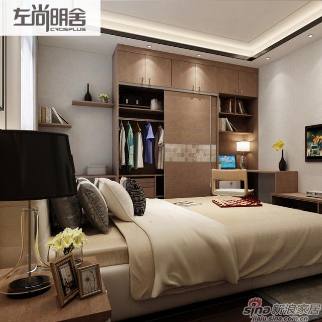 左尚明舍卧室、衣柜
