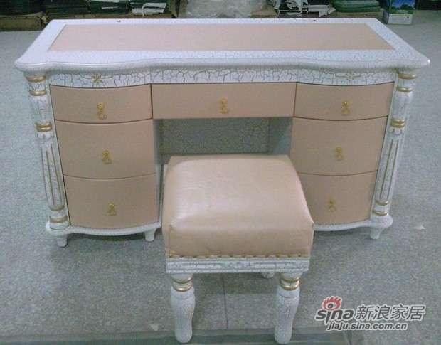 华伦蒂诗实木梳妆台和凳B690# -0