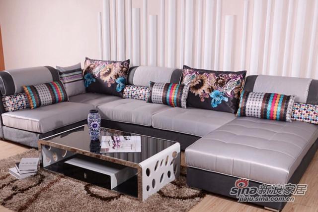 蓝鸟家具组合沙发 LN-BY-0083