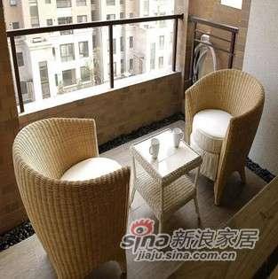 凰家御器组合藤椅藤家具三件套NH-A038-0