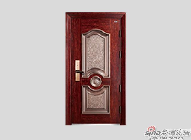王力全自动防盗门-铸铝拼接门系列