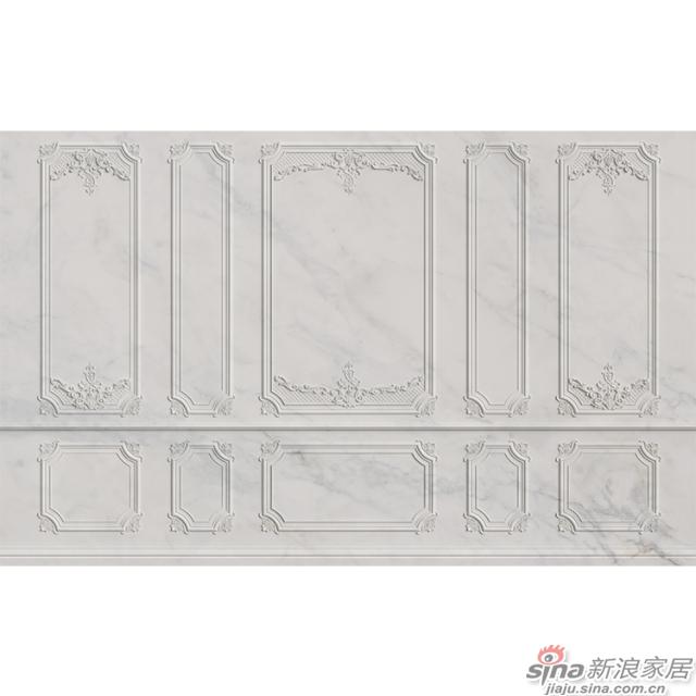 洛可可_贝壳形曲线雕刻石膏线墙面壁画欧式风格背景墙_JCC天洋墙布-1