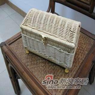 凰家御器藤编化妆箱盒收纳储存NH-Y014-0